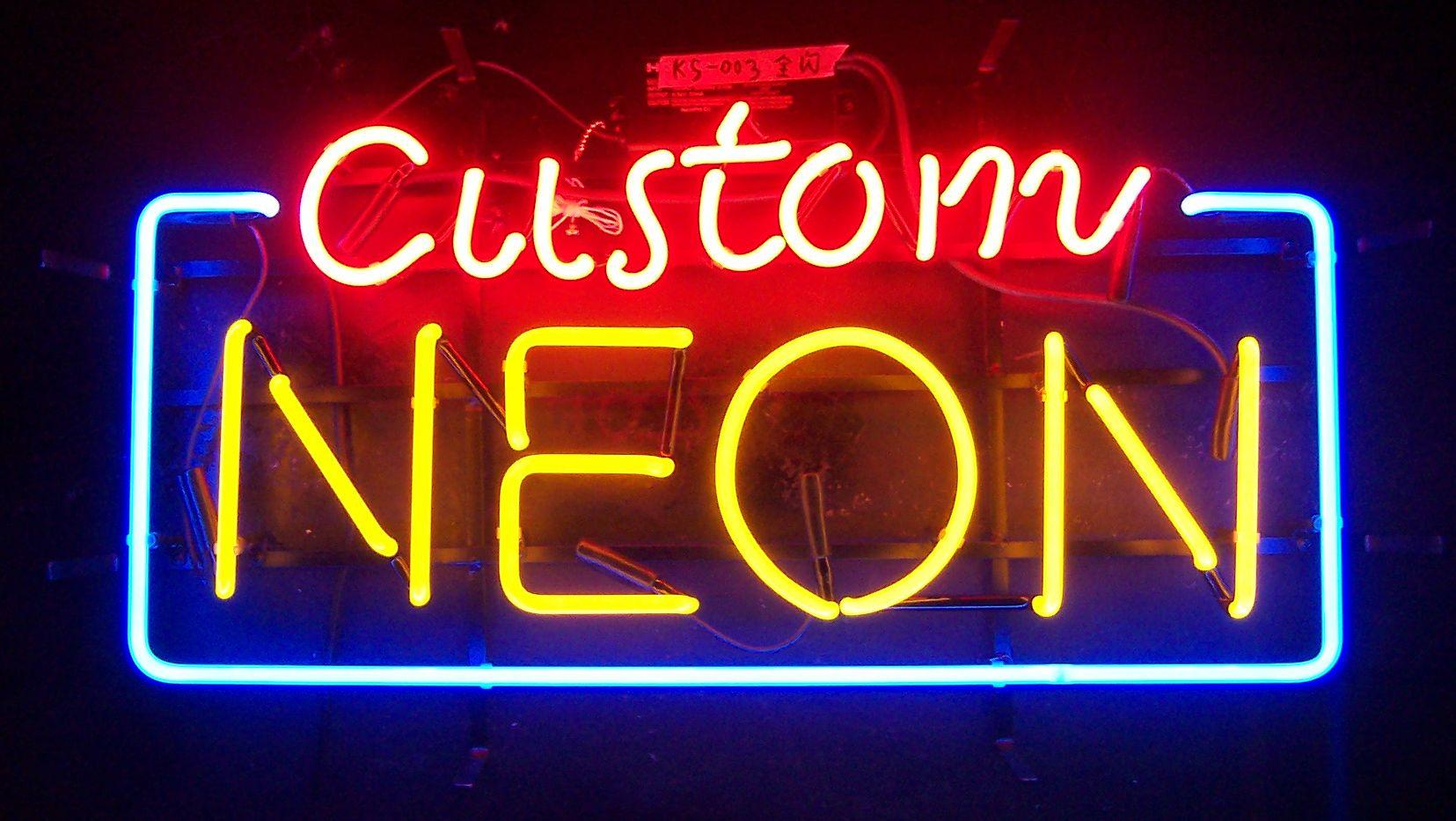 Custom Neon Sign – Any Size, Any Shape | dottheistudio.com