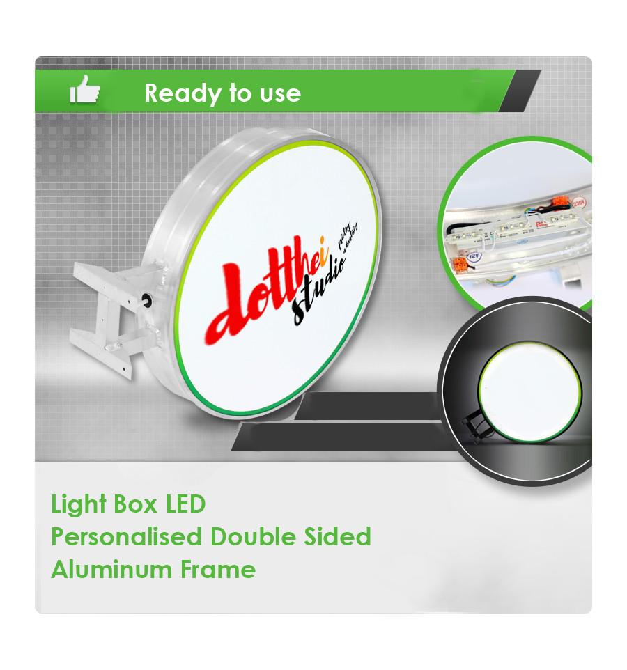 Exterior Led Light Box